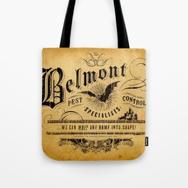 Belmont Pest Control Specialists Tote Bag