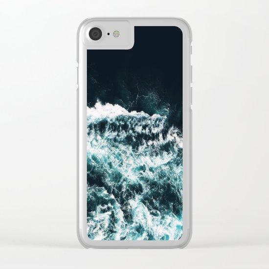 Oceanholic #society6 Decor #buyart Clear iPhone Case