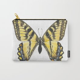 Eastern tiger swallowtail butterfly, papillon glauque Carry-All Pouch