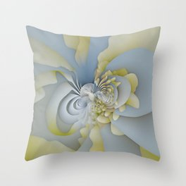 Stacked Fan Throw Pillow