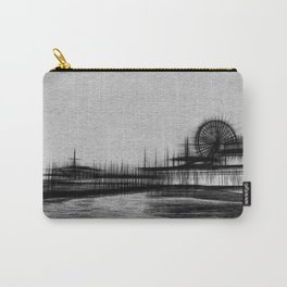 White Noise Santa Monica Pier Carry-All Pouch