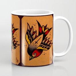 Traditional Tattoo Sparrow Coffee Mug