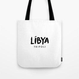 Tripoli x Libya Tote Bag