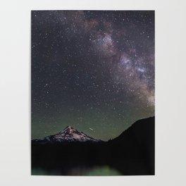 Summer Stars at Lost Lake - Nature Photography Poster