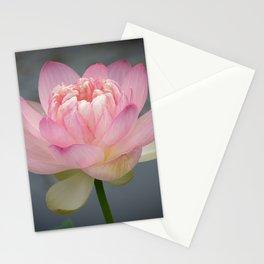 Sacred Pink Lotus - Horizontal Stationery Cards
