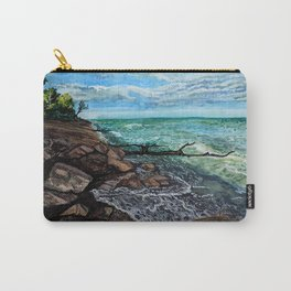 Point Pelee Waves Carry-All Pouch