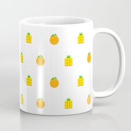 Ji Li Ong Lai / Orange & Pineapple Coffee Mug