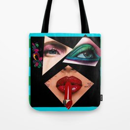 Ulterior Embellishments of a Covergirl Tote Bag