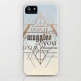 Muggle iPhone Case