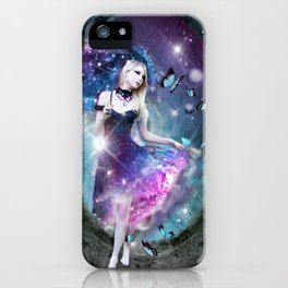 Ethereal keeper of worlds iPhone Case