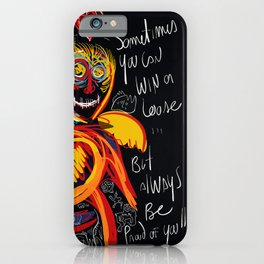 Always be proud of you street art graffiti iPhone Case