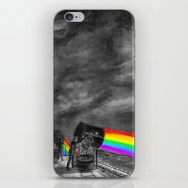 Turn the spotlight on, send the colors iPhone Skin
