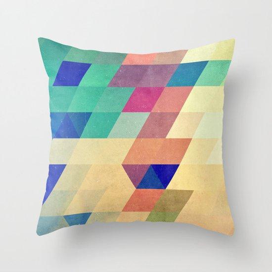dyrzy Throw Pillow