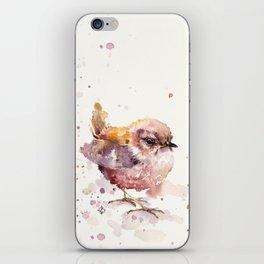 Fluffy Le Wren iPhone Skin