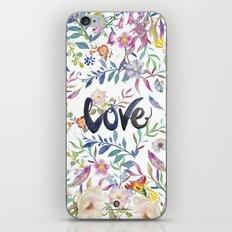 Love flowers iPhone & iPod Skin