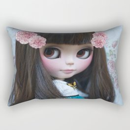 ERREGIRO CUSTOM BLYTHE DOLL ROSE Rectangular Pillow