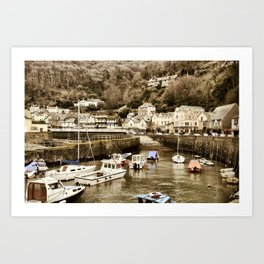 Lynmouth North Devon Art Print