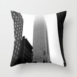 Stories in the Fog  Throw Pillow