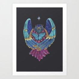 Eagle Totem Art Print