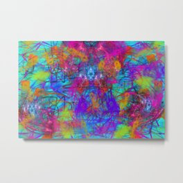 Abstract Energy 5 Metal Print