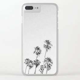 PALM TREES XV / Discovery Bay, California Clear iPhone Case