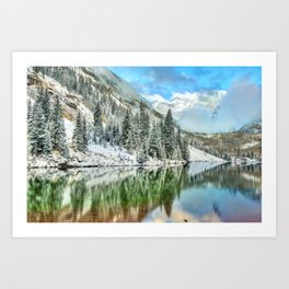 Colorado Living Art Print