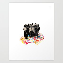 We are all cool though! Art Print