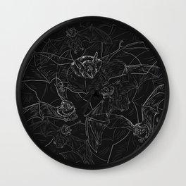 Bat Attack Wall Clock