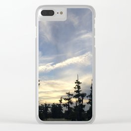 Sunset on the Bayou Clear iPhone Case