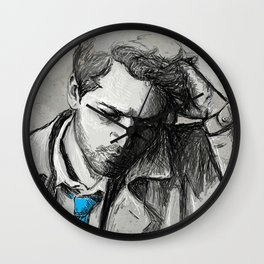 Angel of Thursday Wall Clock