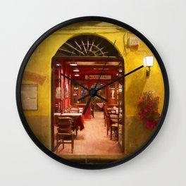 Lucca Cafe Wall Clock