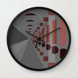Spacial Thinking Wall Clock