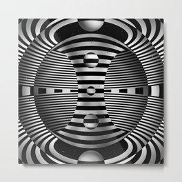 Wheel of Samsara Metal Print