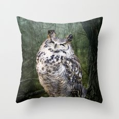 By the Light... Throw Pillow
