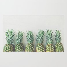 It's All About the Pineapple Rug