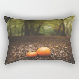 Family Pumpkin Rectangular Pillow