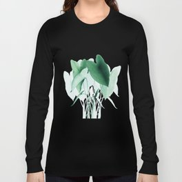 Green Plants Long Sleeve T-shirt