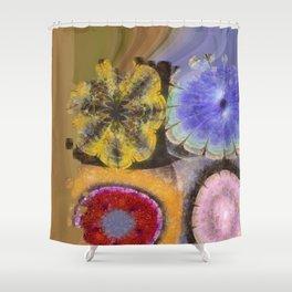 Ergastic Entity Flower  ID:16165-005314-25310 Shower Curtain