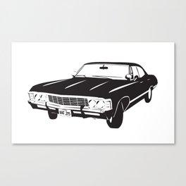 Supernatural Chevrolet Impala 67' Canvas Print