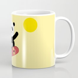 Panda on a skateboard Coffee Mug