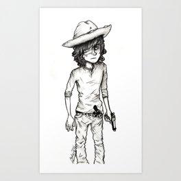 Carl Art Print