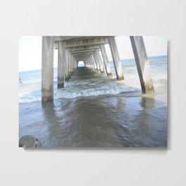 Tidal Waves Metal Print