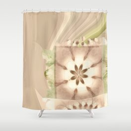 Cagelings Proportion Flowers  ID:16165-120212-27450 Shower Curtain