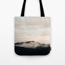 Sunset on Trail Ridge Tote Bag
