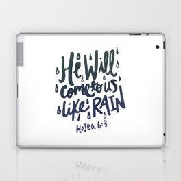 Hosea 6: 3 Laptop & iPad Skin
