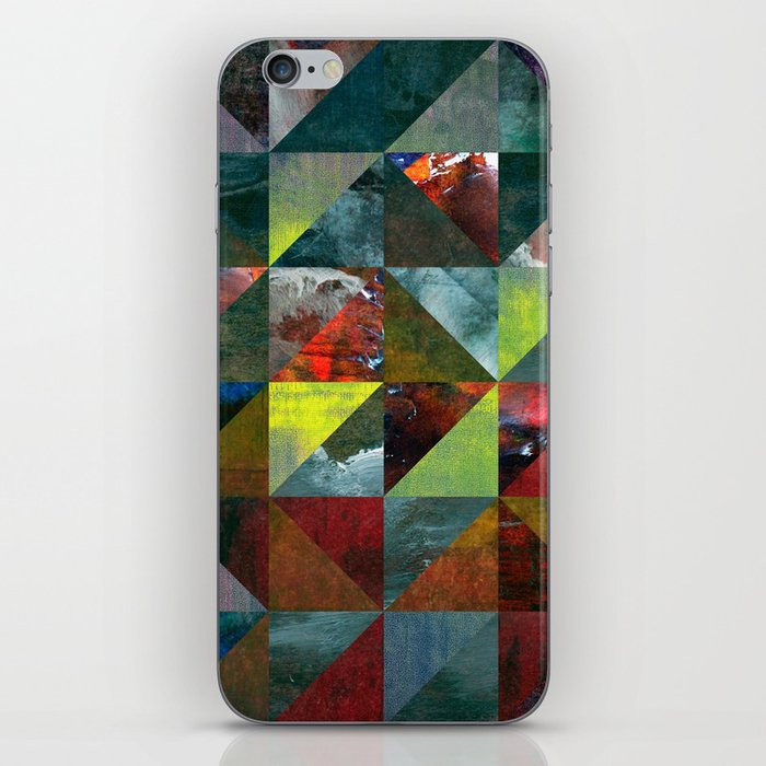 Colour Crystallization iPhone Skin