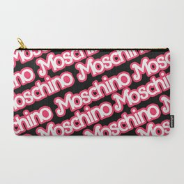 Moschino Everything Black Carry-All Pouch