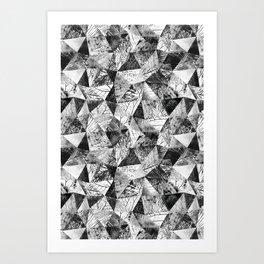 Geometric Nature Art Print