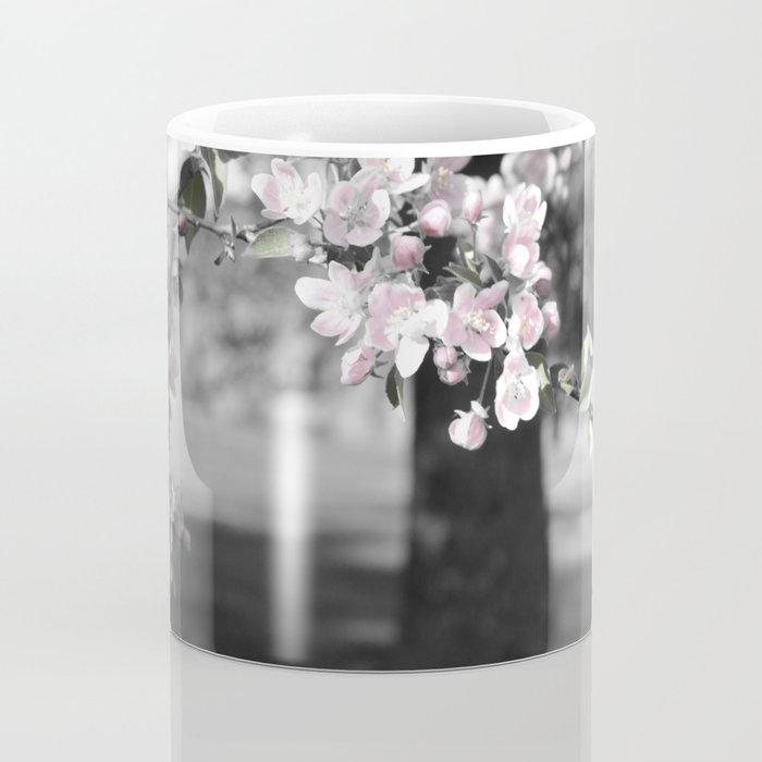 Crab Apple in Pink Coffee Mug