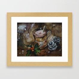 Hot Buttered Rum Framed Art Print